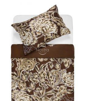 Satīna gultas veļa ADOLPHINE 20-1562-BROWN
