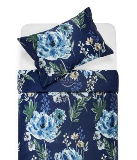 PREMIUM mako satīna gultas veļa CELINE 20-1541-BLUE