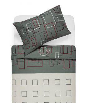 Kokvilnas gultas veļa DELILAH 30-0248-GREY
