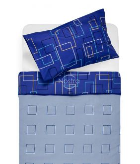Kokvilnas gultas veļa DELILAH 30-0248-BLUE