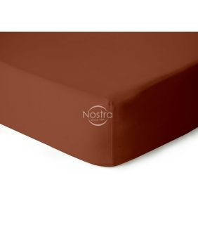 Fitted jersey sheets JERSEY JERSEY-TERRACOTTA