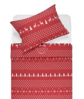 Flannel bedding set BIANCA 10-0544-RED