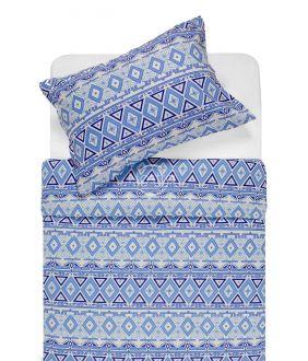 Flaneļa gultas veļa BRIDGET 40-1165-BLUE