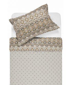 Фланелевое постельное бельё BRIDGET 40-1165/40-1166-BROWN