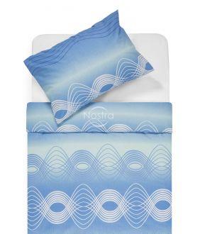 Kokvilnas gultas veļa DERBY 30-0562-L.BLUE