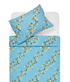 Flaneļa gultas veļa BLESSING 20-1550-BLUE
