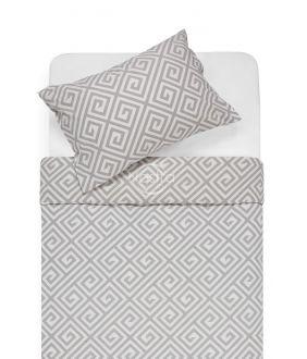 Flannel bedding set BRITTANY 30-0603-GREY