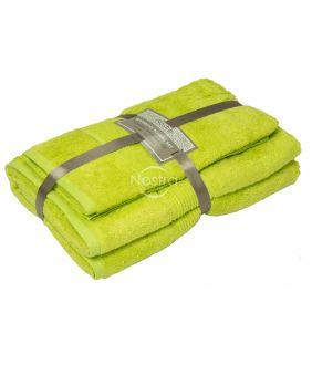 Бамбуковые набор полотенец BAMBOO-600 T0105-APPLE GREEN
