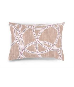 Flannel pillow cases with zipper 40-1164-FRAPPE