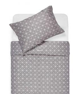 Sateen bedding set ABEQUA 30-0459-SOFT GREY