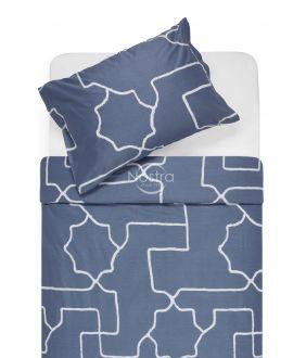 Sateen bedding set ADRIANE 30-0547-STONE BLUE