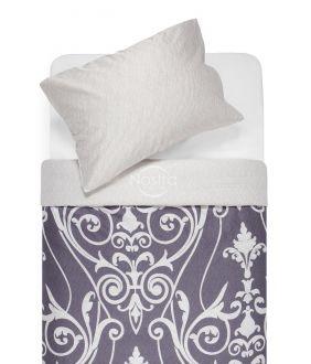Sateen bedding set ADSILA 40-1178/40-1179-GREY/L.GREY