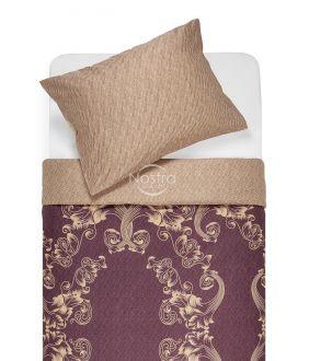 Sateen bedding set AGAFIA 40-1179/40-1177-PLUM