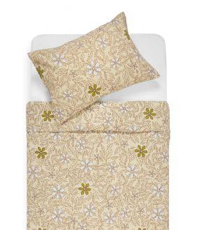 Flaneļa gultas veļa BETHANY 20-1549-BEIGE