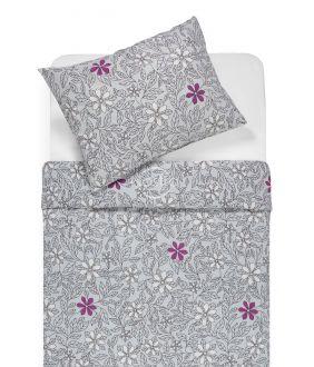 Фланелевое постельное бельё BETHANY 20-1549-GREY