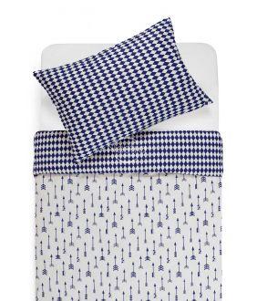 Children bedding set ARROW 10-0541/30-0582-WHITE/BLUE