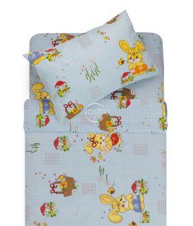 Детское постельное белье HAPPY BUNNY 10-0355-BLUE