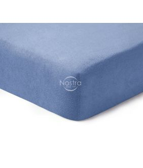 Fitted terry sheets TERRYBTL-PALACE BLUE