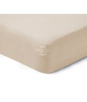 Fitted terry sheets TERRYBTL-FRAPPE