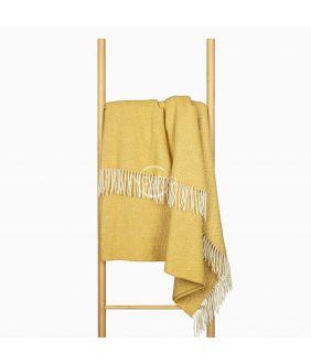 Woolen plaid MERINO-300 80-3131-MUSTARD