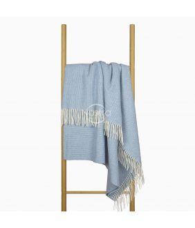 Vilnas pleds MERINO-300 80-3253-LIGHT BLUE