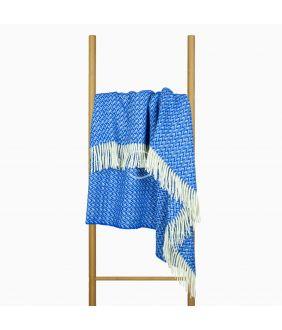 Plaid ZELANDIA 80-3203-XMAS BLUE