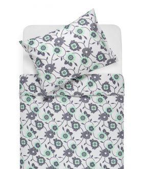 Kokvilnas gultas veļa DORTE 20-1535-MINT