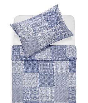 Kokvilnas gultas veļa DORITA 30-0567-BLUE
