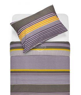 Cotton bedding set DORIANA 30-0568-PLUM