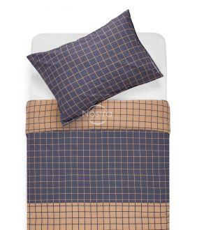 Kokvilnas gultas veļa DONYA 30-0573-BLUE