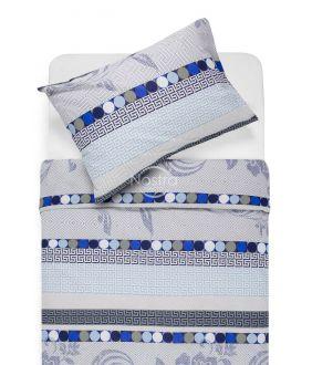 Cotton bedding set DONA 40-0896-BLUE