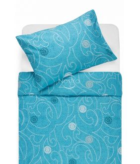 Kokvilnas gultas veļa DONALDA 40-0980-BLUE