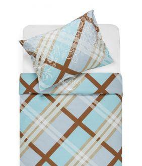 Cotton bedding set DOMINA 40-0995-AQUA