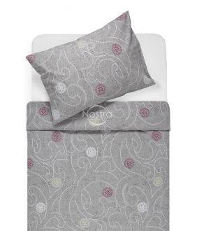 Kokvilnas gultas veļa DONALDA 40-0980-GREY