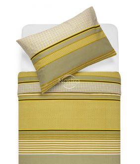 Kokvilnas gultas veļa DORIANA 30-0568-MUSTARD