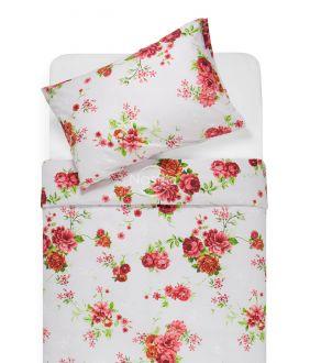 Kokvilnas gultas veļa DESIRE 20-1537-RED