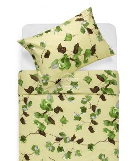 Cotton bedding set DIVINA 20-1457-PALE OLIVE