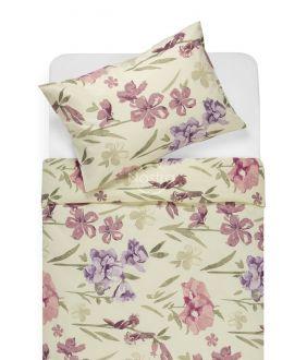Kokvilnas gultas veļa DOLORES 20-1458-PLUM