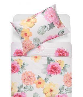 Kokvilnas gultas veļa DIRCE 20-1534-OPT.WHITE