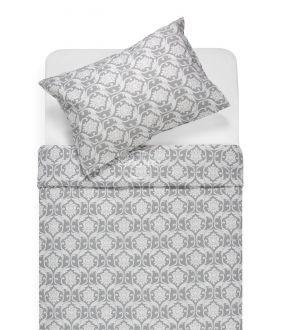 Cotton bedding set DIONA 30-0570-GREY