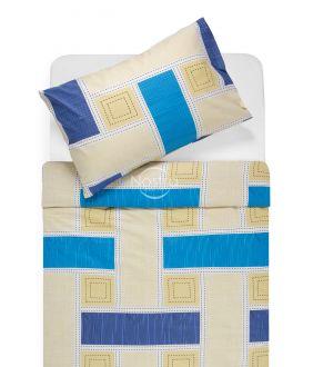 Kokvilnas gultas veļa DIAMANDA 30-0575-BLUE