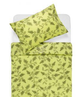 Kokvilnas gultas veļa DEVYN 40-1243-AVOCADO GREEN