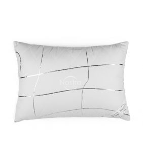 Подушка VASARA на молнии 70-0022-WHITE/SILVER