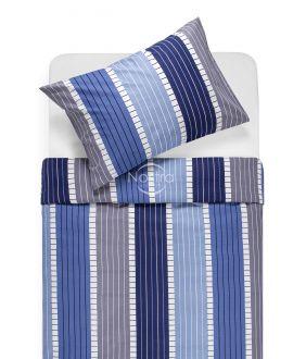 Kokvilnas gultas veļa DORA 30-0572-BLUE