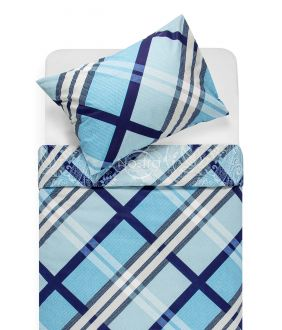Cotton bedding set DOMINA 40-0995-BLUE