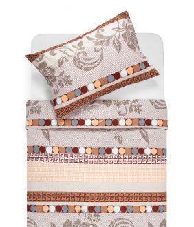 Kokvilnas gultas veļa DONA 40-0896-BEIGE