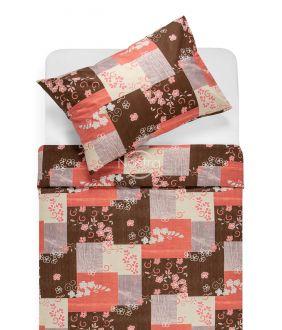 Kokvilnas gultas veļa DESTINE 20-1501-ROSE