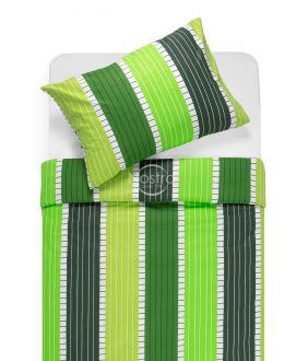 Kokvilnas gultas veļa DORA 30-0572-GREEN