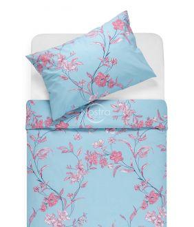 Kokvilnas gultas veļa DUSTEE 20-0569-BLUE