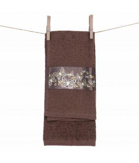 Кухонное полотенце 350GSM T0115-DARK CHOCO